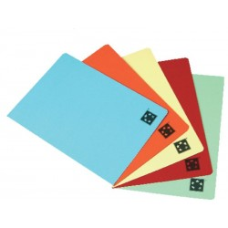 SUBCARPETA FOLIO 180 GRS CARTULINA DISPONIBLE EN DISTINTOS COLORES / 50 UNIDADES