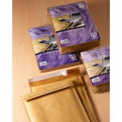 BOLSA AIR-BAG Nº 21, KRAFT 165X180 PAQUETE 10 UD PARA CD / 00921/132094