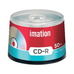 CD-R 700MB 80MIN 52X IMATION TARRINA DE 50 REF. 22-18647-9