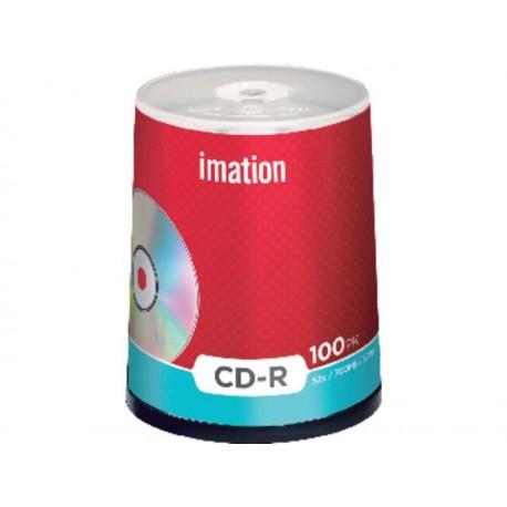 CD-R 700MB 80MIN 52X IMATION TARRINA 100 UNIDADES. REF : 100CD-R/18648